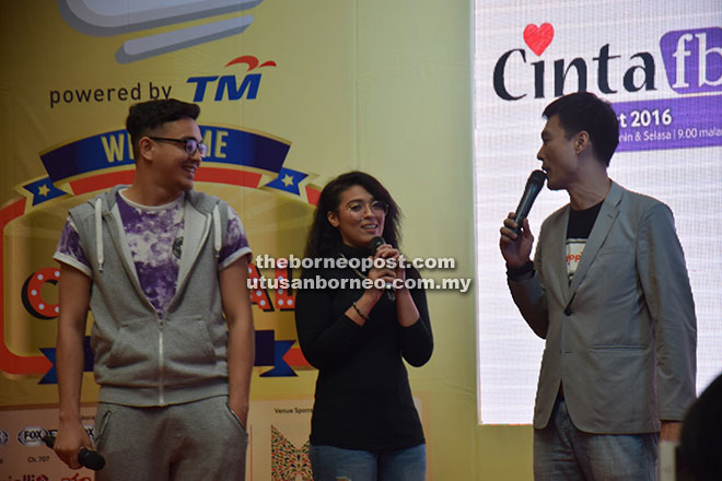 Also Making Special Earances Were Local Celebrities Chacha Maembong And Erwin Dawson To Promote Their New