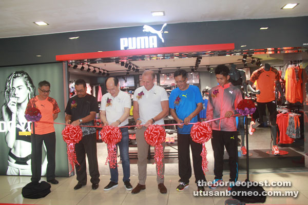 Puma launches Forever Faster 2 Concept store in Kuching  87e30622896e