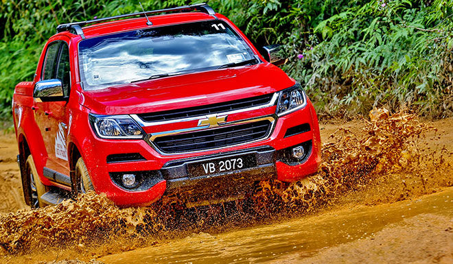 The superb All-New Chevrolet Colorado in action.