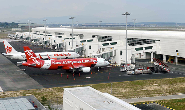 """""""Meanwhile, KLIA 2 showed negative growth of 3.2 per cent y-o-y due to passenger traffic moderating from Malindo and Lion Air's shift in operations,"""" it said in a research report."""