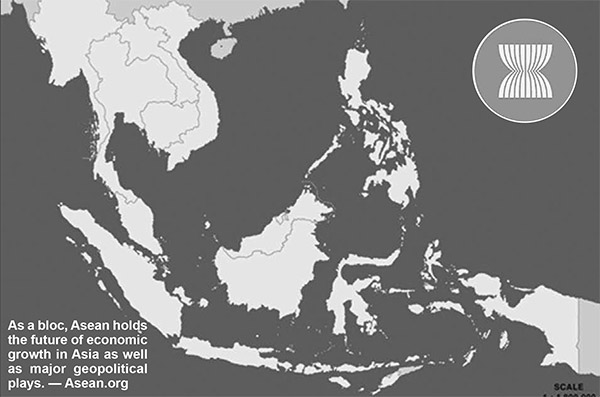 As a bloc, Asean holds the future of economic growth in Asia as well as major geopolitical plays. — Asean.org