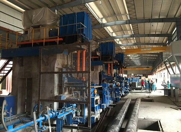 Photo shows a steel products at a steel production plant. Masteel aims to improve its sales volume to East Malaysia due to the mega infrastructure projects expected to be rolled out in the next five years.