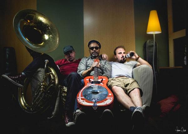 Photo of Delgres band's album art. — Photo Credit: Pierre Danae