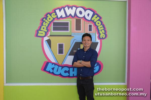 Upside Down House Opens Doors In Kuching Borneo Post Online