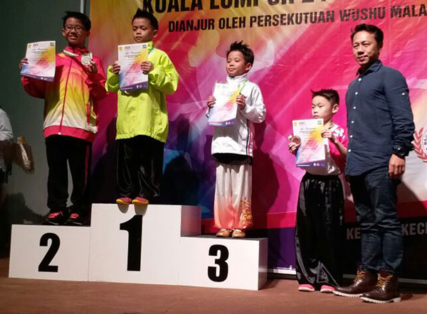 Sarawak off to a roaring start at KPM meet with a 5-2-3 medal haul