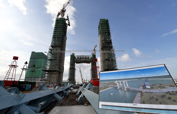 Terengganu Drawbridge To Be Completed In September Borneo Post Online