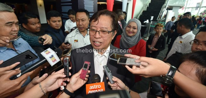 No 'termites' will be tolerated in GPS – Abang Johari