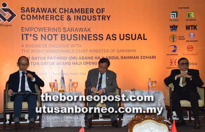 CM: State exploring tie-up between Sarawak Pay, China's UnionPay