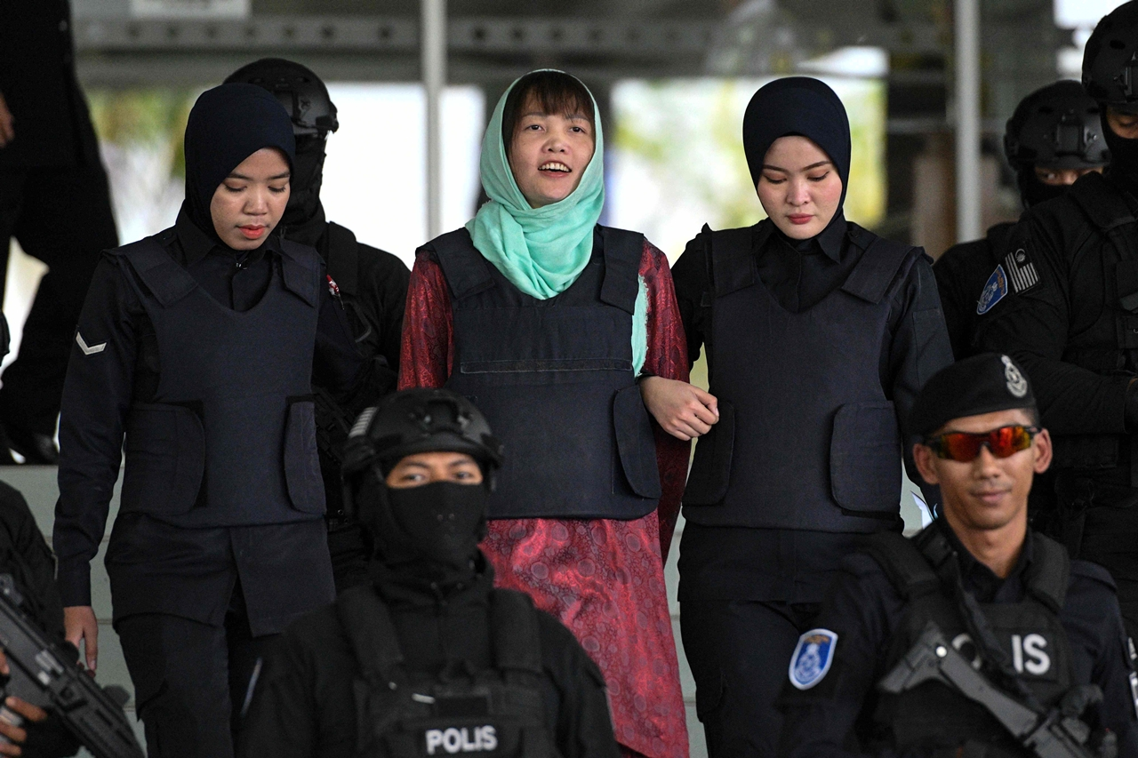 Murder at the airport: The brazen attack on Kim Jong-nam