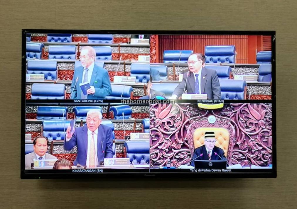 Debating Bill In Parliament