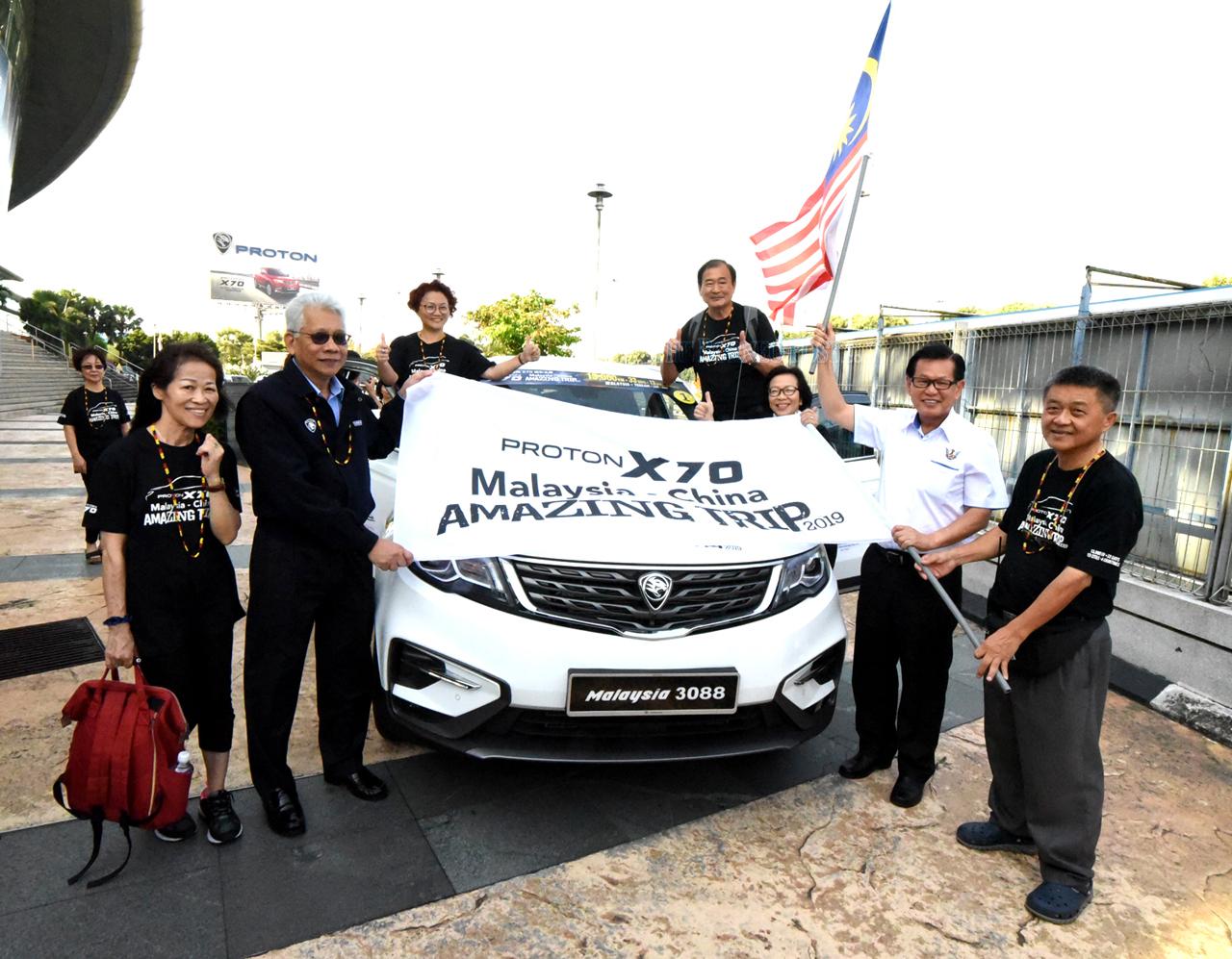 Aspiring to inspire with Proton X70   Borneo Post Online