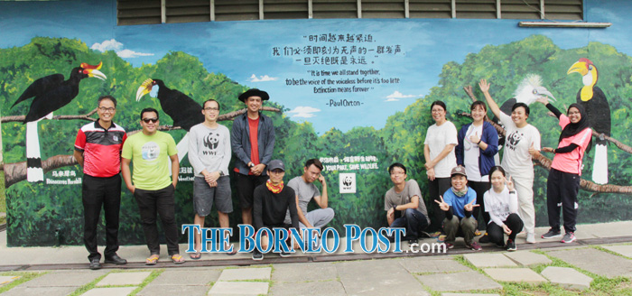 Conservation Key Theme Of WWF-M'sia's Mural Project | Borneo Post Online