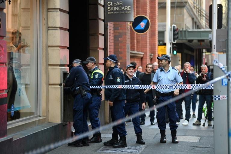 Man dramatically arrested following stabbing spree in Sydney's CBD