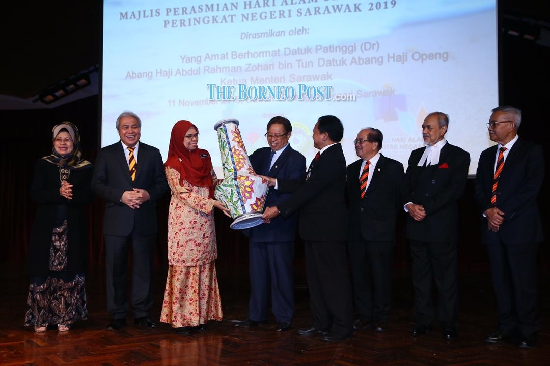 Attention on sustainable energy because Sarawak cares about environment, says CM - The Borneo Post