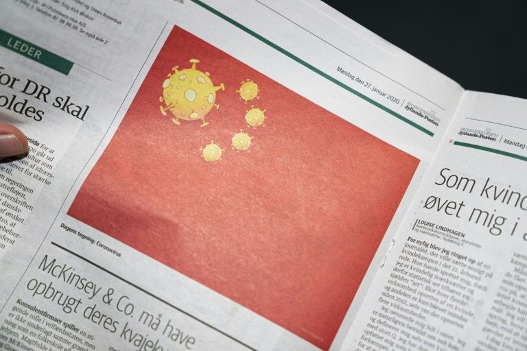 Danish newspaper's virus cartoon angers China