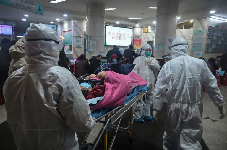 China virus toll spikes despite massive lockdown, 80 confirmed dead
