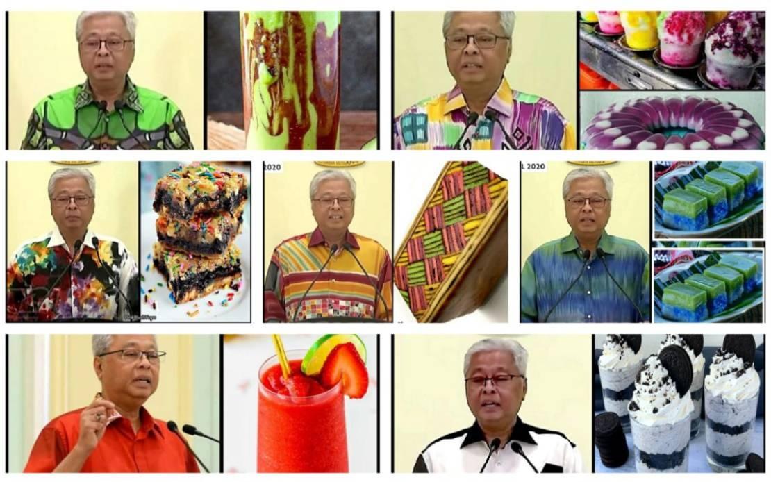 Ismail Sabri S Sumptuous Batik Shirts Get Compared To Ramadan Delicacies