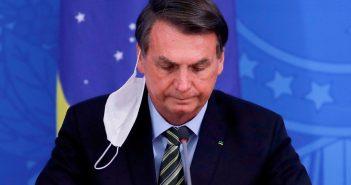 Brazilian President Jair Bolsonaro tests positive for Covid-19