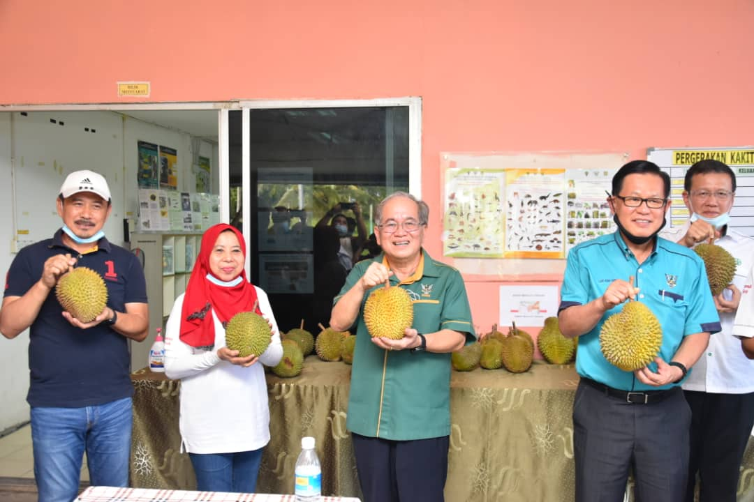 Kabuloh Agriculture Research Centre urged to carry out more R&D on local durian cross-breeding – Uggah