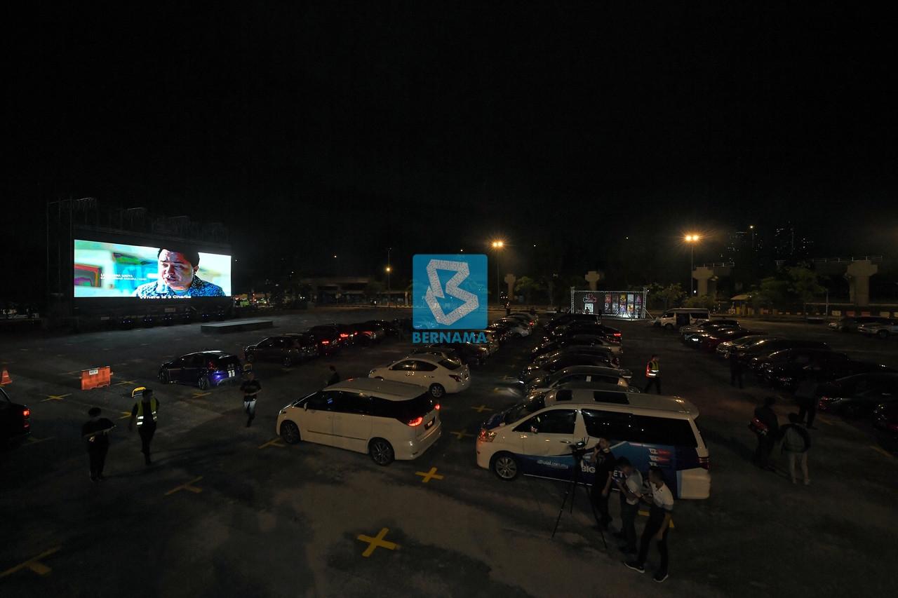 Covid-19: Drive-in cinema good alternative, but keep SOPs in mind  Zahidi