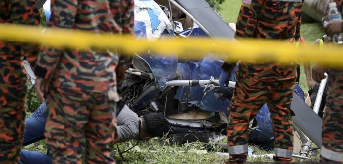 Taman Melawati Chopper Crash Cops Record Statements From Seven Witnesses Borneo Post Online