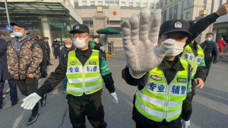 International News China Jails Journalist For Four Years Over Wuhan Coronavirus Reports