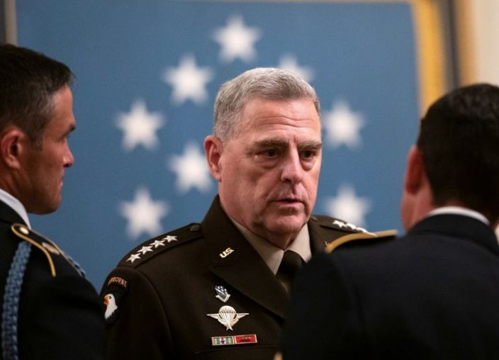 Top US general meets Taliban, Afghan leader ahead of pullout