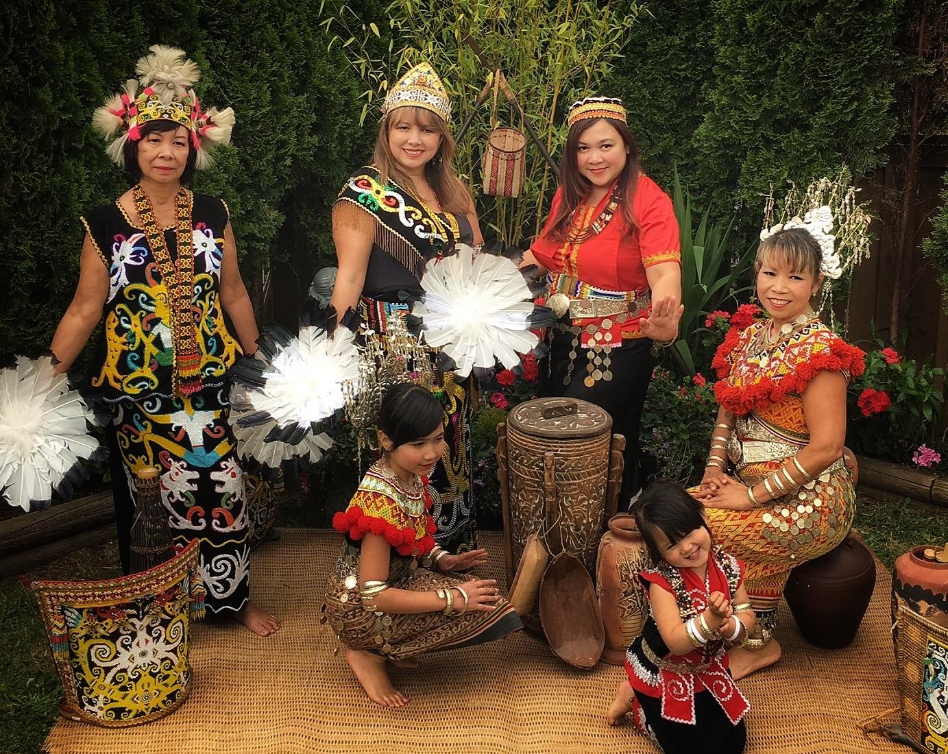 Bidayuh residing in Vancouver highlights Gawai Dayak in special photoshoot